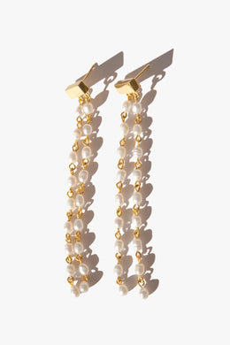 Flash - Muse Earrings, Gold