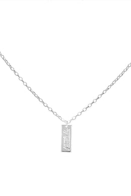 Stolen Girlfriends Club - Stolen Ingot Necklace, Silver