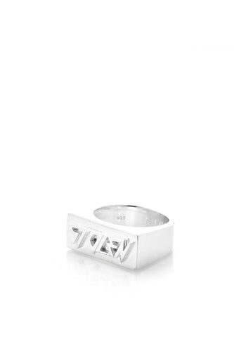 Stolen Girlfriends Club - Stolen Ingot Ring, Silver