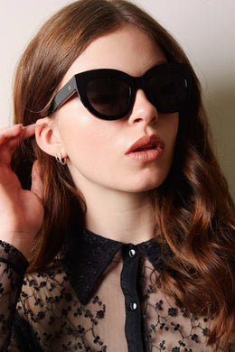 Isle Of Eden - Wynnie Sunglasses, Black
