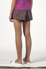 Thing Thing - Ivy Shorts, Charcoal Check