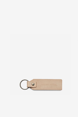 Status Anxiety - If I Stay Keyring, Tan