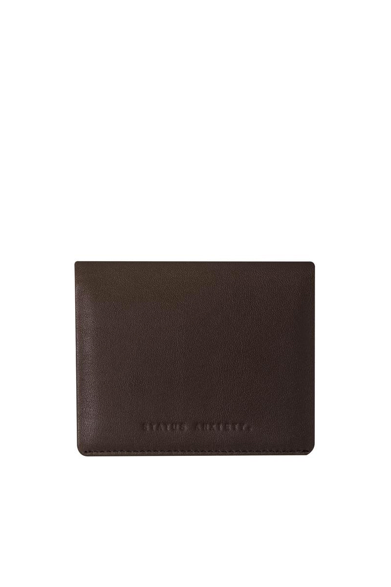 Status Anxiety - Lennen Wallet, Chocolate