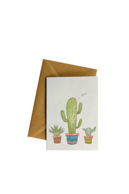 Little Difference - Cacti Hola Card