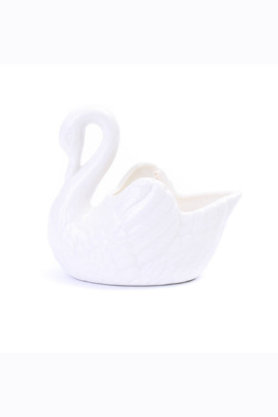 LoveHate - Large Swan Candle, Vanilla