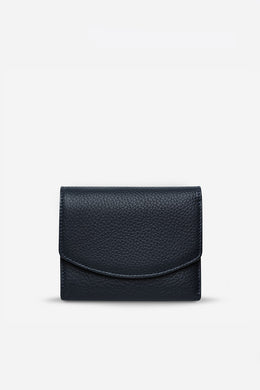 Status Anxiety - Lucky Sometimes Wallet, Navy Blue