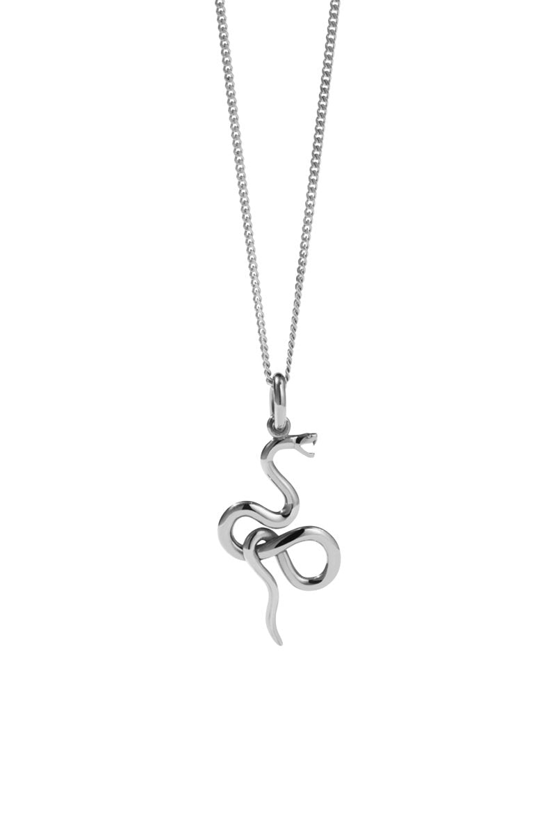 Meadowlark- Medusa Necklace, Sterling Sliver
