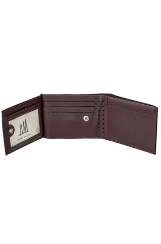Status Anxiety - Noah Wallet, Chocolate