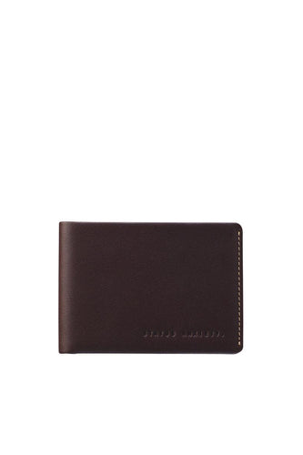 Status Anxiety - Otis Wallet, Chocolate