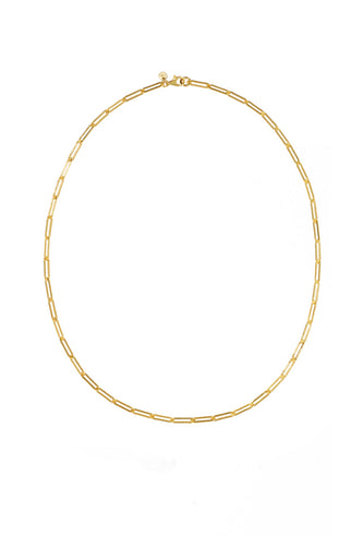 Meadowlark - Paperclip Light Necklace, Gold