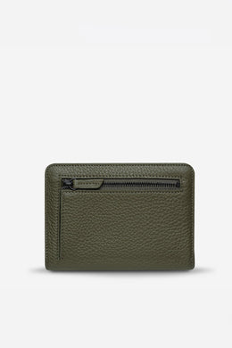 Status Anxiety - Popular Problems Wallet, Khaki