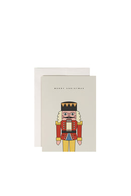 Redfries - Greetings Card, Nutcracker