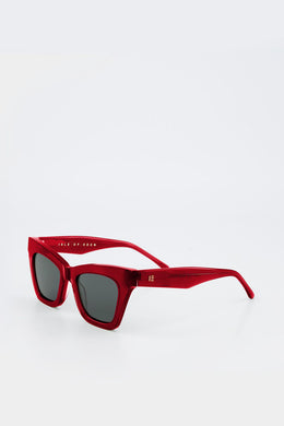 Isle Of Eden - Sienna Sunglasses, Red