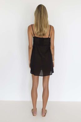Humidity - Cotton Slip, Black