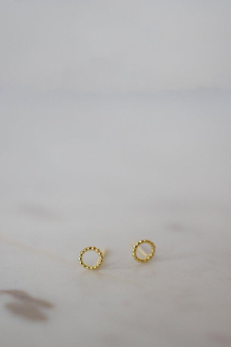 Sophie - Dotty Oh Stud Earrings, 14kt Gold Plate