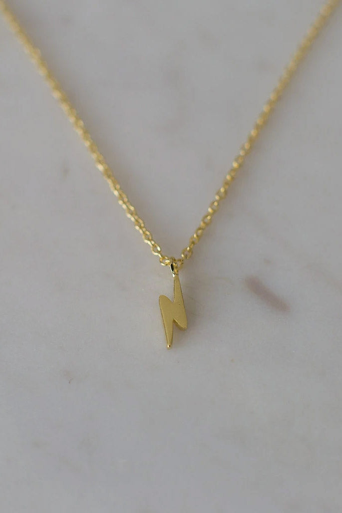 Sophie - Flashy Necklace, Gold