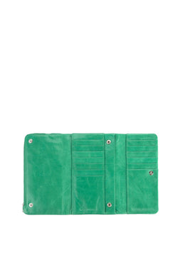 Status Anxiety - Audrey Wallet, Emerald