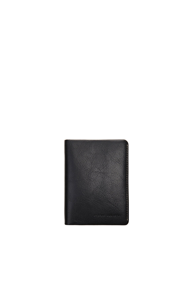 Status Anxiety - Conquest Passport Wallet, Black