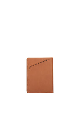 Status Anxiety - Conquest Passport Wallet, Camel