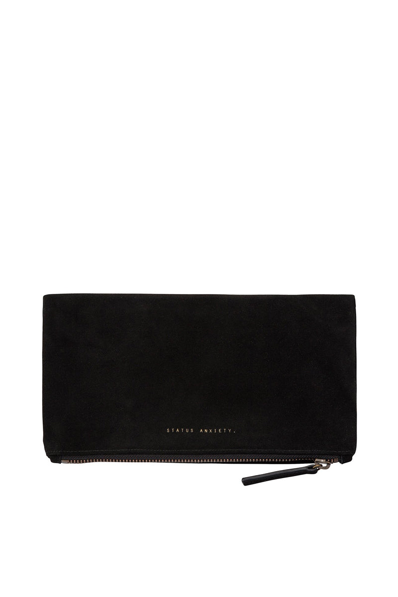 Status Anxiety - Feel The Night Clutch, Black