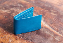 Status Anxiety - Jonah Wallet, Blue