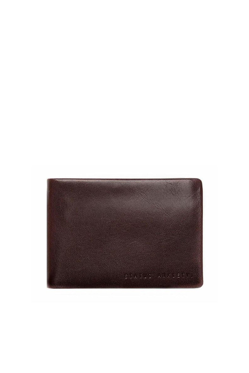 Status Anxiety - Jonah Wallet, Chocolate