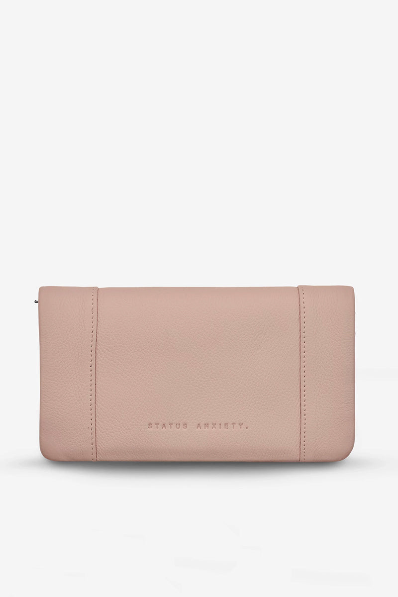 Status Anxiety - Some Type of Love Wallet, Dusty Pink