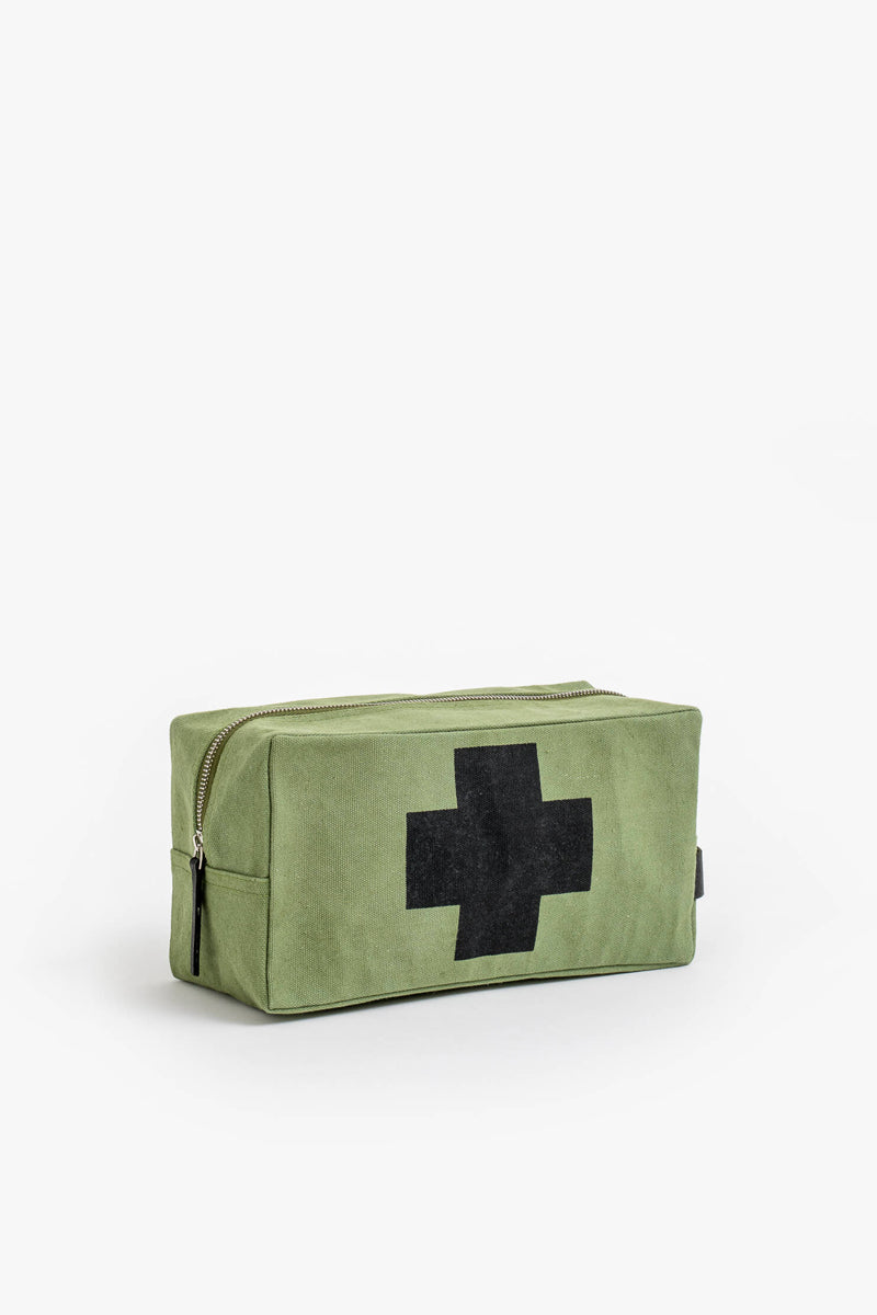 Stella + Gemma - Mens Toilet Bag, Khaki