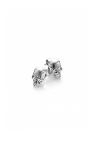 Stolen Girlfriends - Baby Skull Earrings, Silver