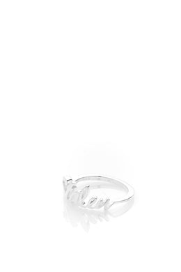 Stolen Girlfriends Club - Stolen Script Ring, Silver