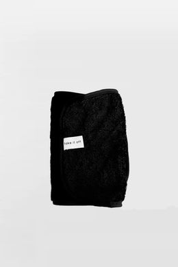 Take It Off - Makeup Removal Towel, Black