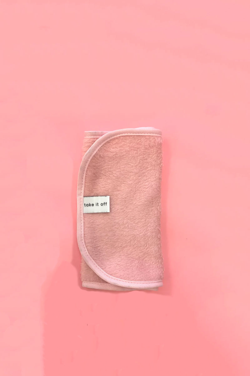 Take It Off - Makeup Remover Towel, Pink
