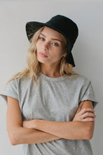 Sophie - Wool Bucket Hat, Black