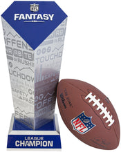 Load image into Gallery viewer, Officially Licensed NFL Fantasy Football Trophy