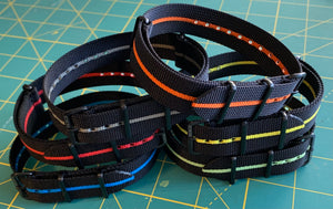 Stripe Nylon Pvd