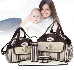 Waterproof Baby Shoulder Changing Bags (5 PCS/SET) - Honest Maternity