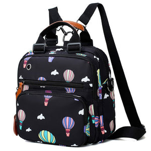 Large Capacity Maternity Changing Bag (Backpack with Balloon Printing)