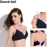 Gourd doll Breast feeding cotton Maternity Nursing Bras - Honest Maternity
