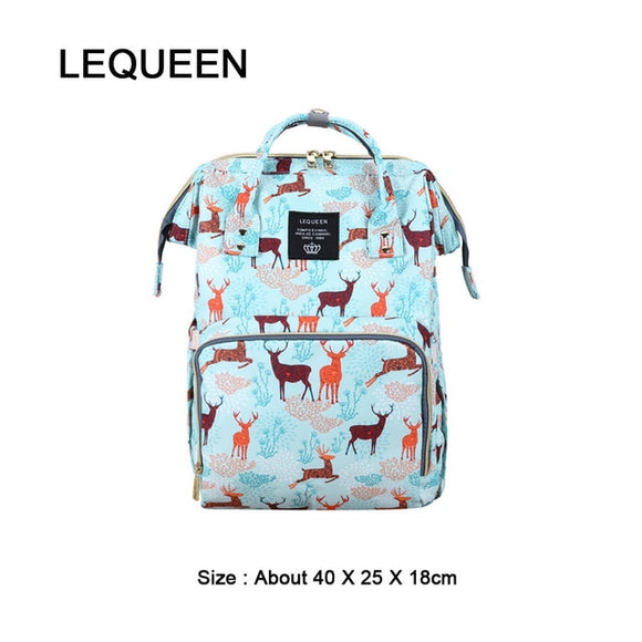LEQUEEN Large Capacity Changing Bag