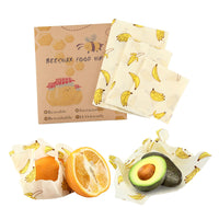 3 piece Beeswax Food Wrap (Food Grade)