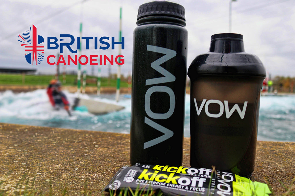 GB Olympic Canoeing Team Appoint VOW Nutrition as Official Partner