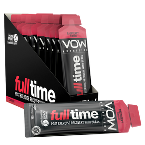 Full Time x 12 Sachets - Recovery BCAAs + Energy - Vow Nutrition