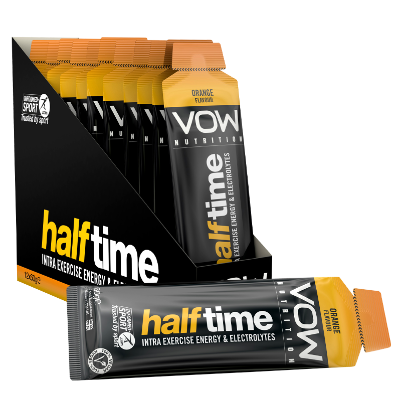 Half Time x 12 Sachets - Intra Exercise Energy + Hydration - Vow Nutrition