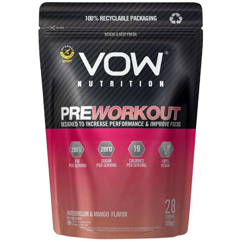 VOW Pre Workout - Vow Nutrition