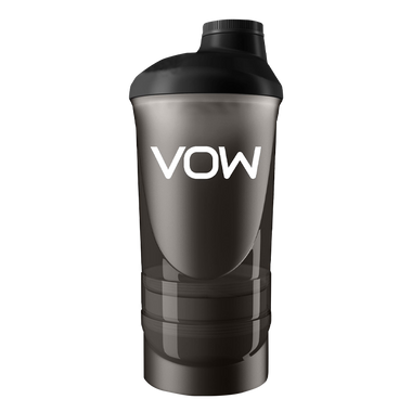 Vow 3 compartment shaker - Vow Nutrition