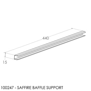 JAYLINE SAFFIRE BAFFLE SUPPORT CHANNEL (12mm)