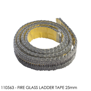Fire Glass Ladder Tape 25mm - Per Metre (Minimum Order Quantity 2 Metres)