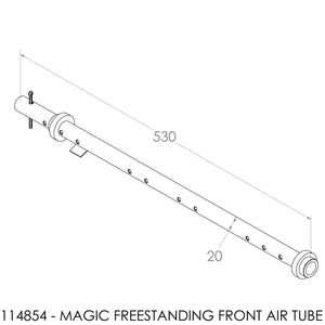 Jayline Classic Secondary Air Tube 1985-93
