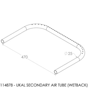 Jayline Classic/Magic/Ukal Secondary Air Tube 1993 (U Shape)