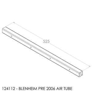Fisher Blenheim Secondary Air Tube Pre2006 525x25 Dia